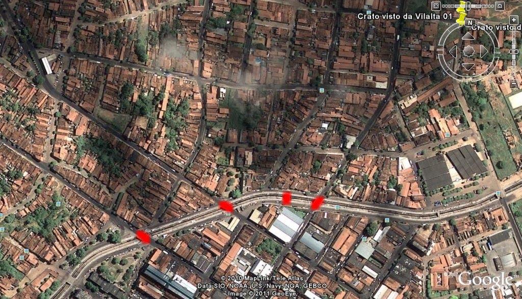 Blog Do Crato - Crato map