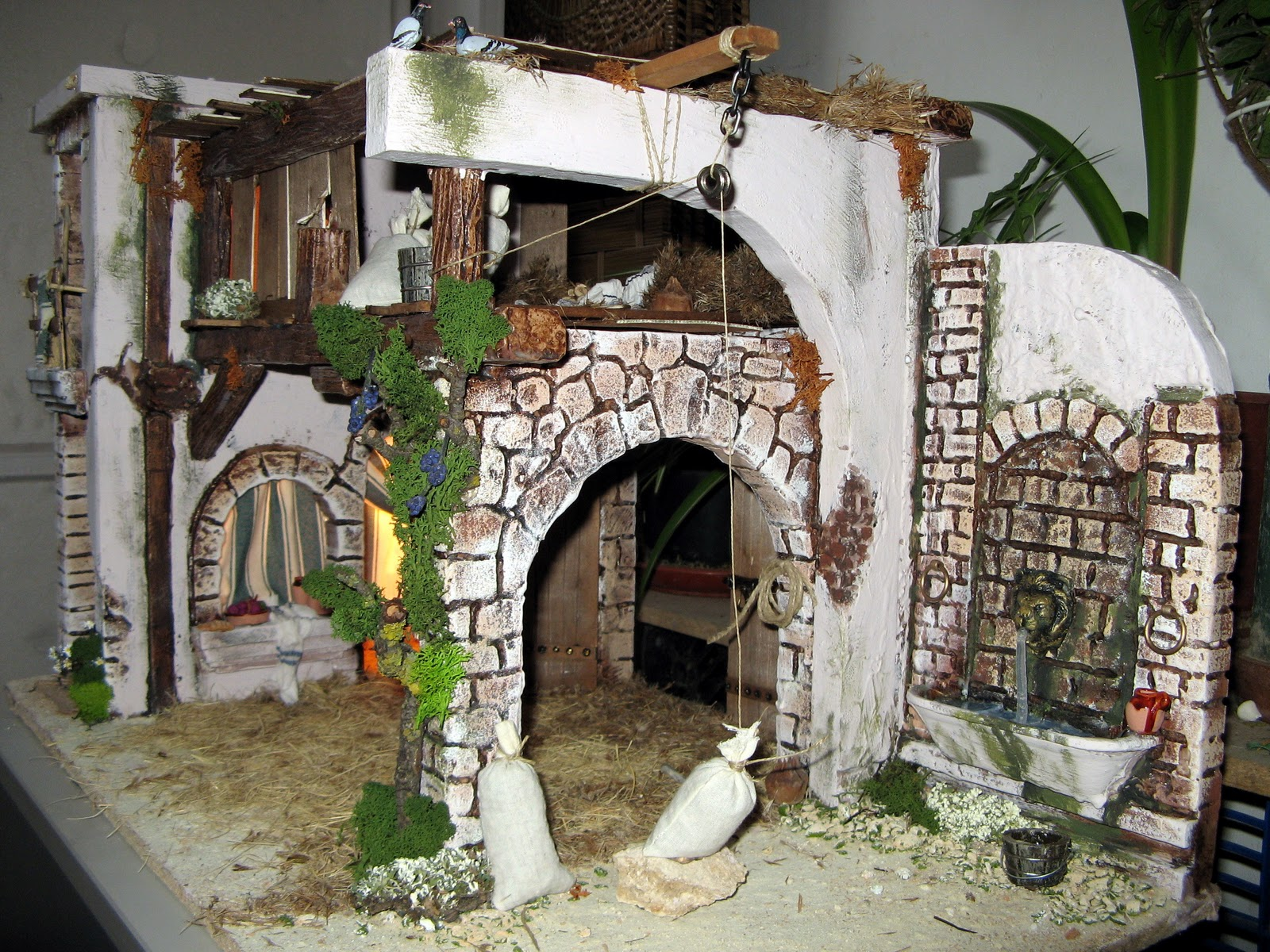 2241c5e0088 Casas belenes navideños manjor diorama ideas jpg 1600x1200 Casas belenes  navideños manjor diorama ideas