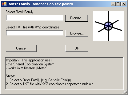 RevitToday: Insert Revit Families using a XYZ text file