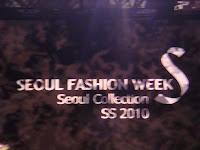 %name SEOUL FASHION WEEK   1°day