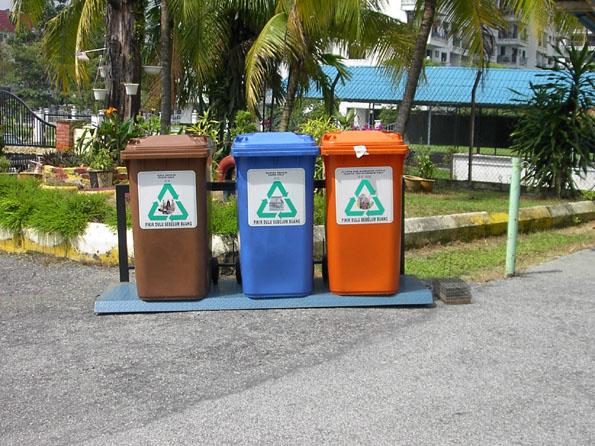 kitar semula, tong kitar semula, mari recycle bin,