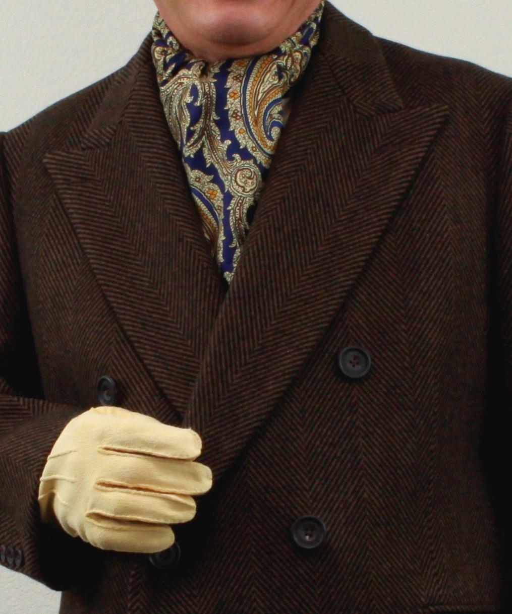 Suitable Wardrobe Mens Suit Neck Scarves