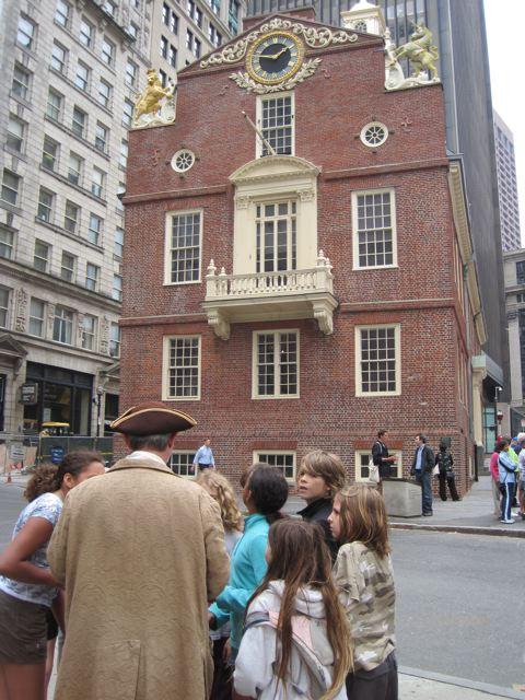 Red Cedar School ~ Red cedar school students travel to boston and old