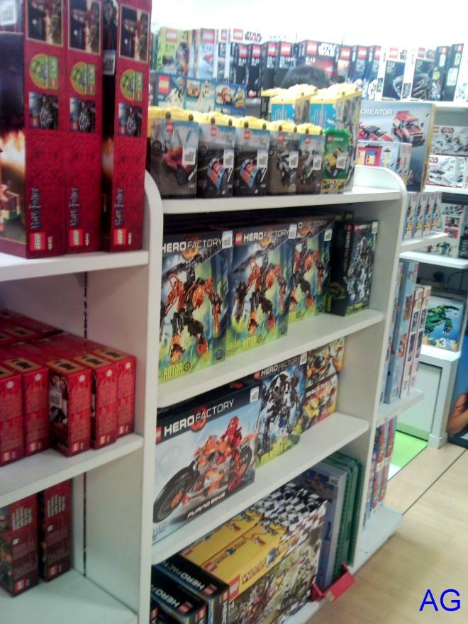 ASTRO GALAXY: LEGO shops in Singapore