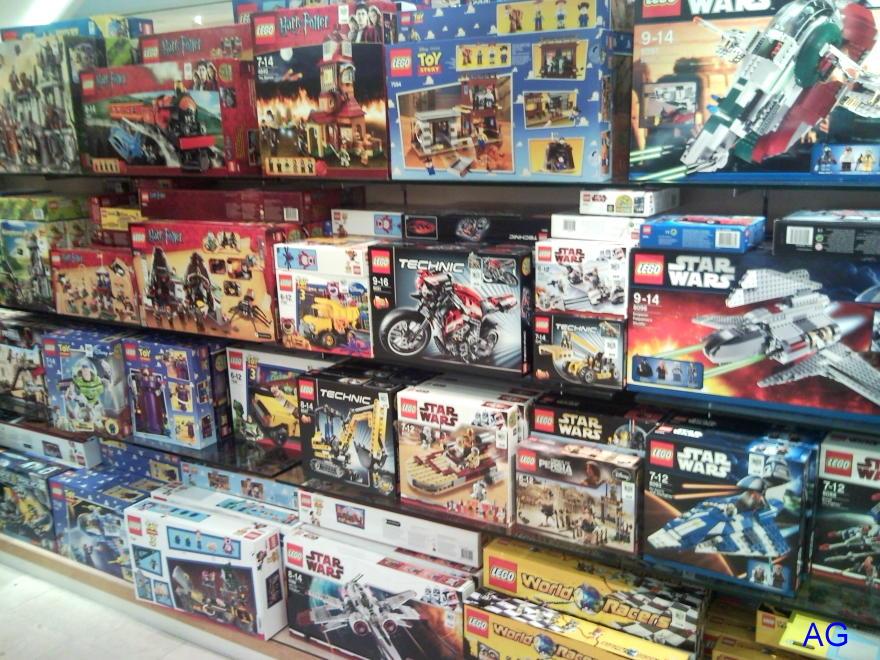 Lego world: LEGO shops in Singapore