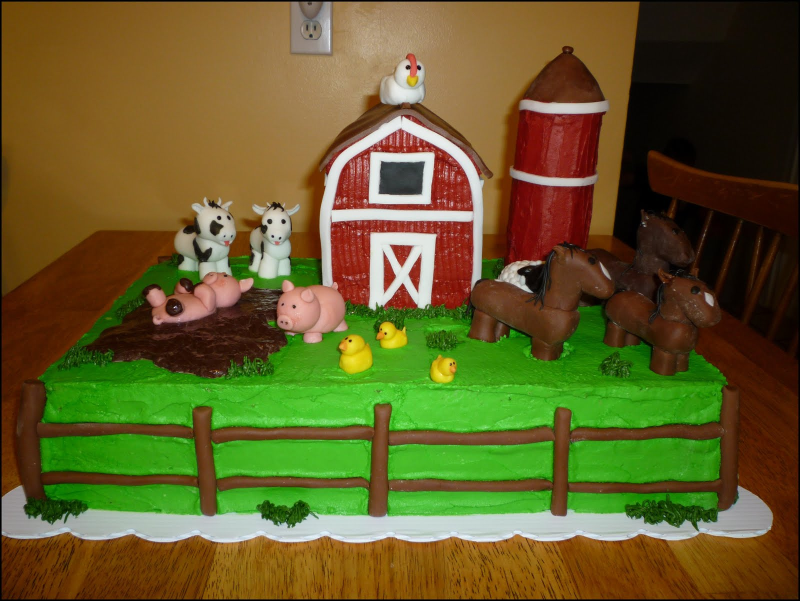 Crazy About Cakes Old Mcdonald Had A Farm Cake