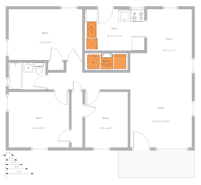 Bids for Projects in Falls Church: House Layout