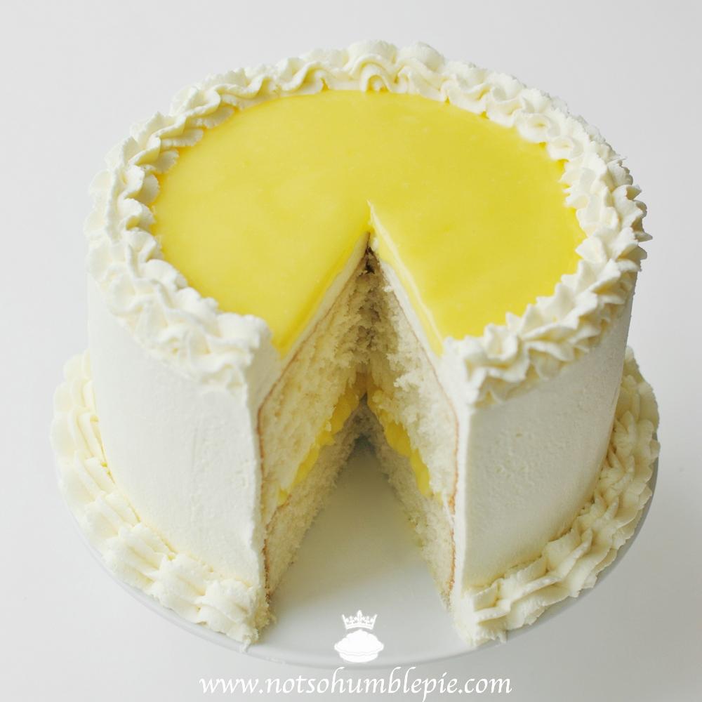 Not So Humble Pie Lemon Mascarpone Cream Cake