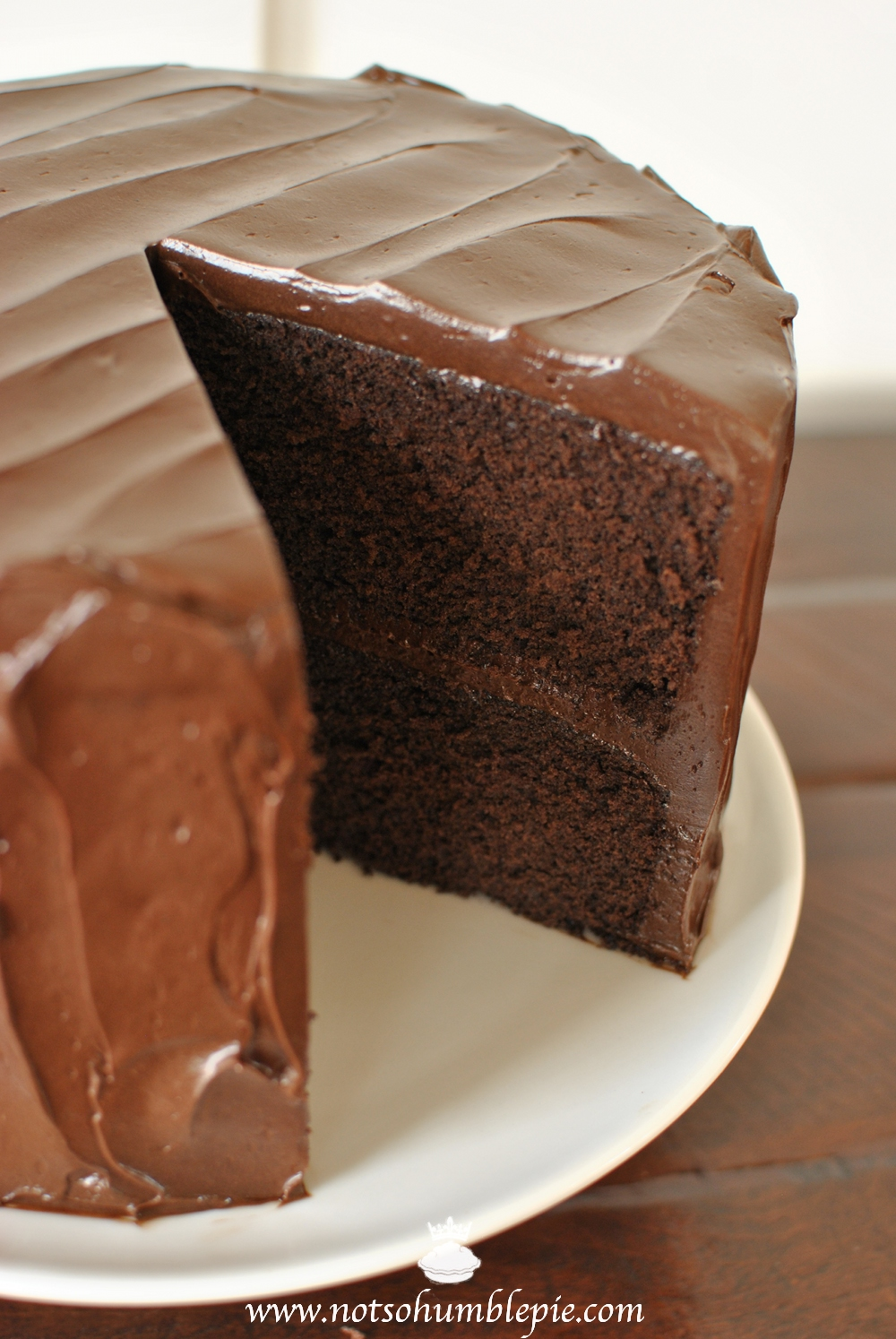 Chocolate Fudge Cake Recette