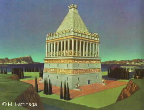 Mausoleul+Din+Halicarnassus Cele 7 Minuni Ale Lumii
