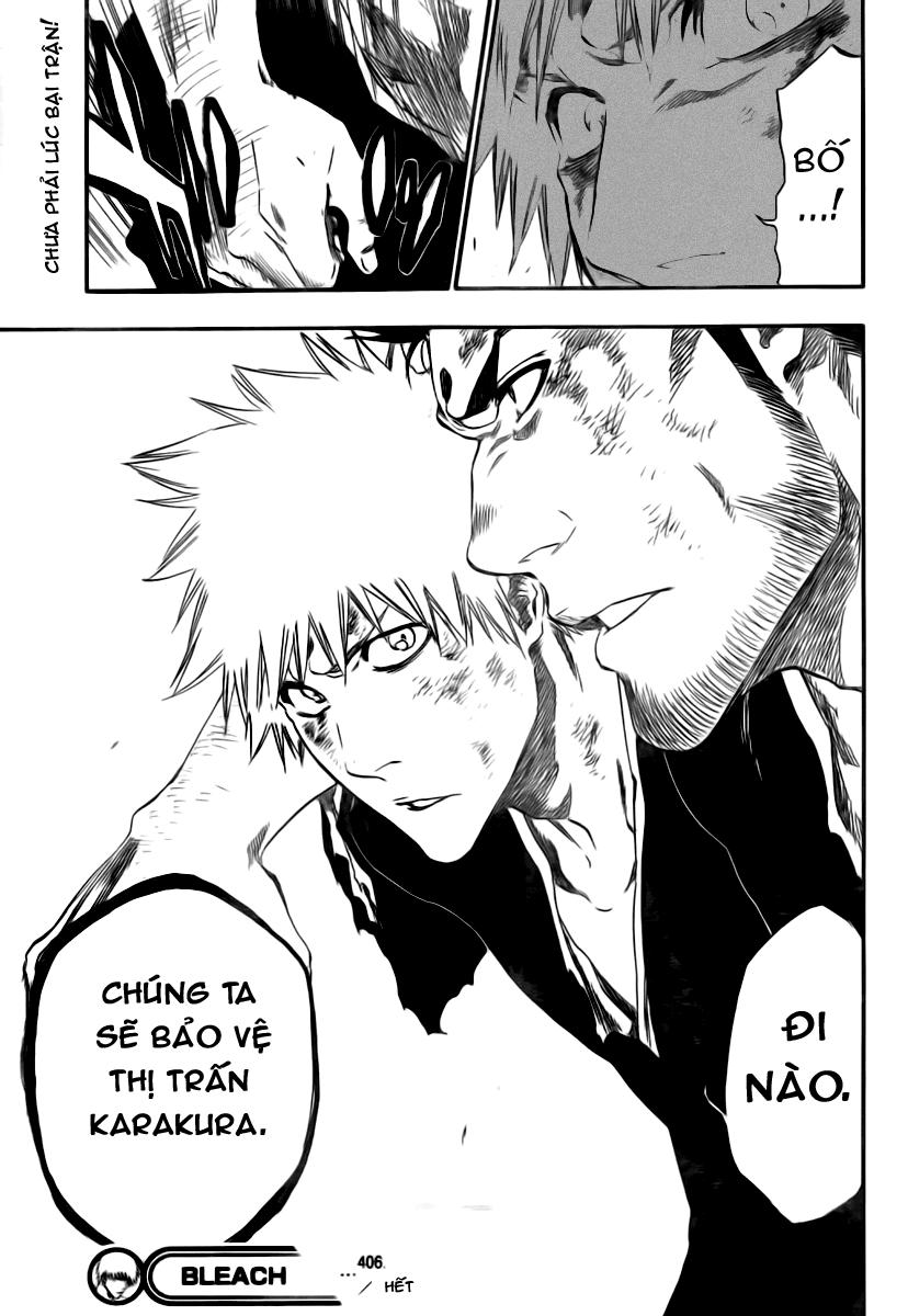 Bleach chapter 406 trang 19