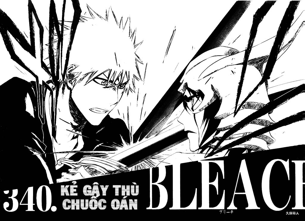 Bleach chapter 340 trang 8
