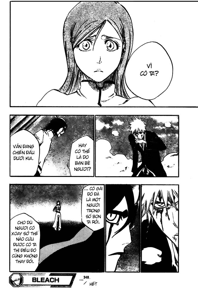 Bleach chapter 340 trang 17