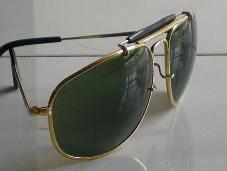 03d97e91ee All About Rayban Made in USA  B L RAY-BAN USA Outdorsman Olympic ...