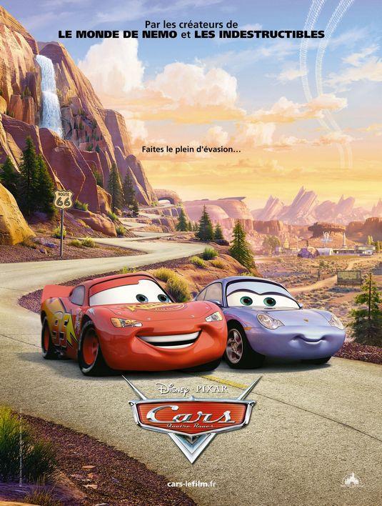 2006 cars mcqueen film poster disney lightning wilson owen animation newman brrip paul bonnie hunt screenshots larry desert