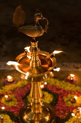 HINDU RITUALS AND ROUTINES   : Why Do We Light A Lamp?