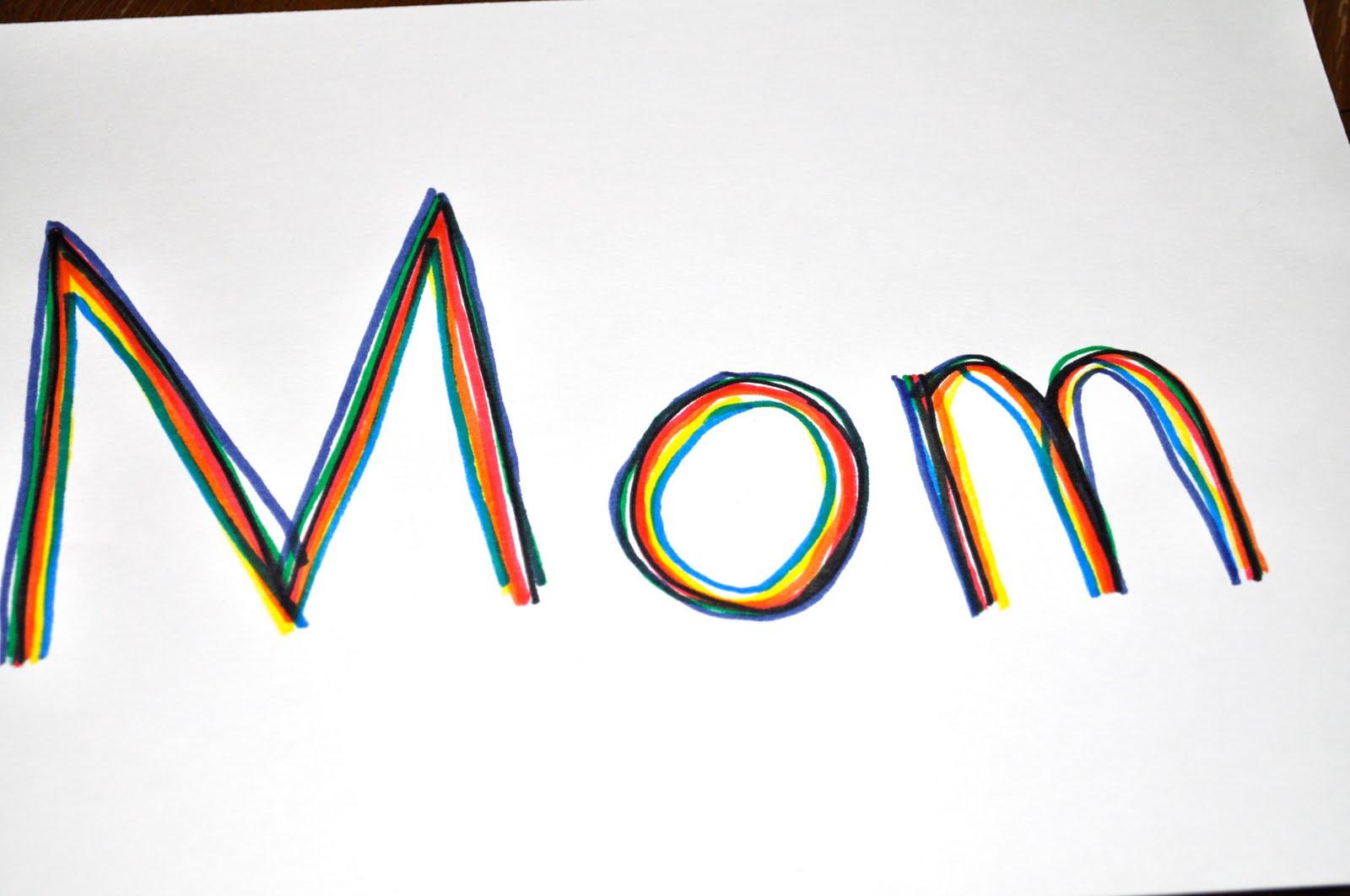 Rainbow Name Trace