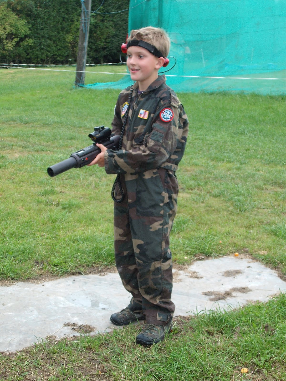Yvonne Byatt S Family Fun Army Boot Camp Party 2010