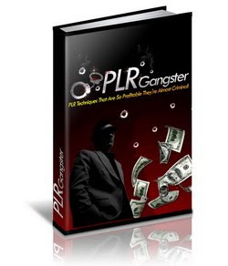 Private Label Rights (PLR) Gangster