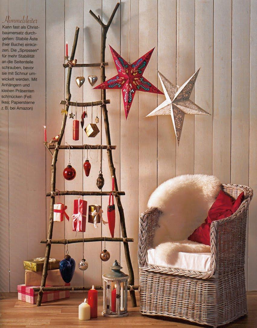 Loddelina designs: Homemade Christmas tree