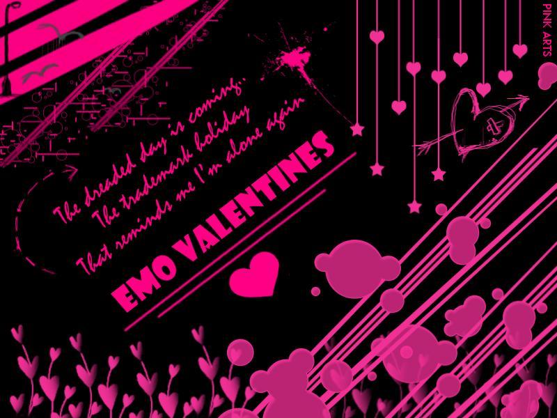 Anime Girl And Boy Couples Wallpapers Emo Valentines Emo Wallpapers Of Emo Boys And Girls