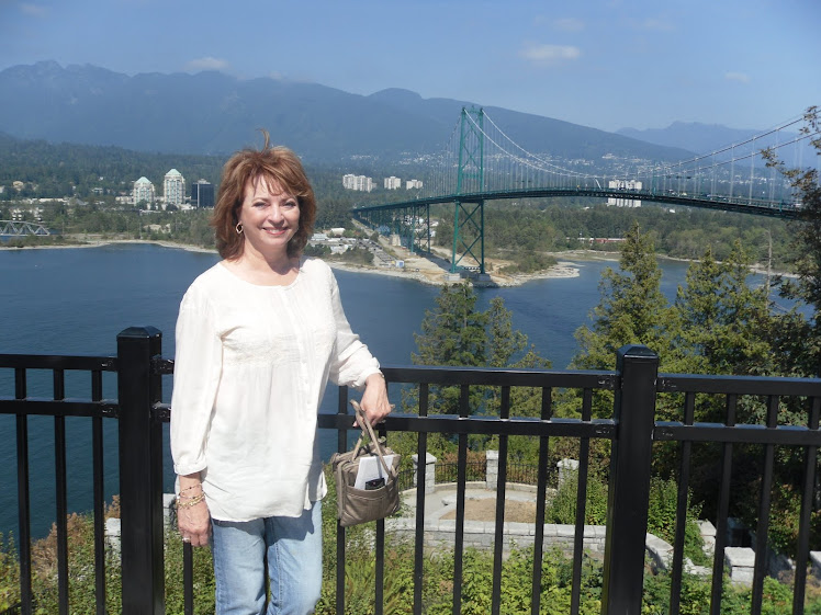My Sweetheat at Prospect Point, Stanley Park, Vancouver, BC