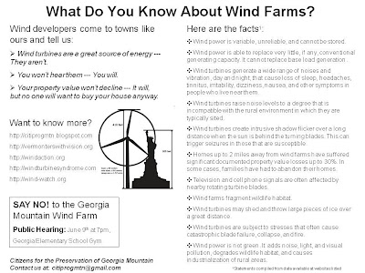 Wind Power Fact Sheet
