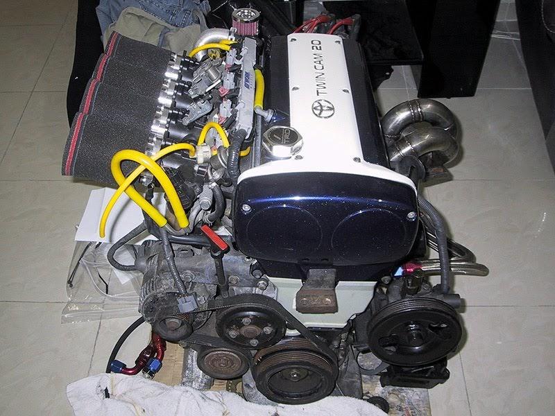 Engine 4AGE 20V Wiring Diagram Schematic  BEN9166