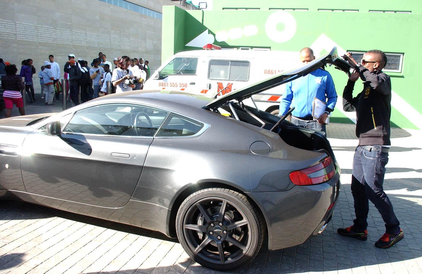 Mosaic Home Decor Teko Modise Drives An Aston Martin The Tiger S Story