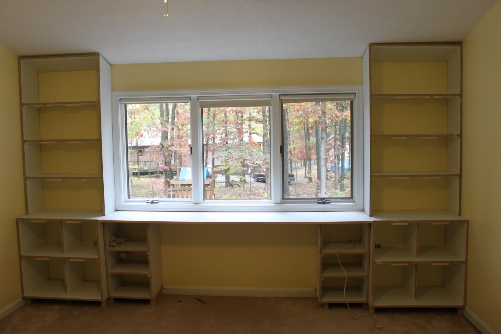 Built In Bookcase Desk Plans PDF Woodworking