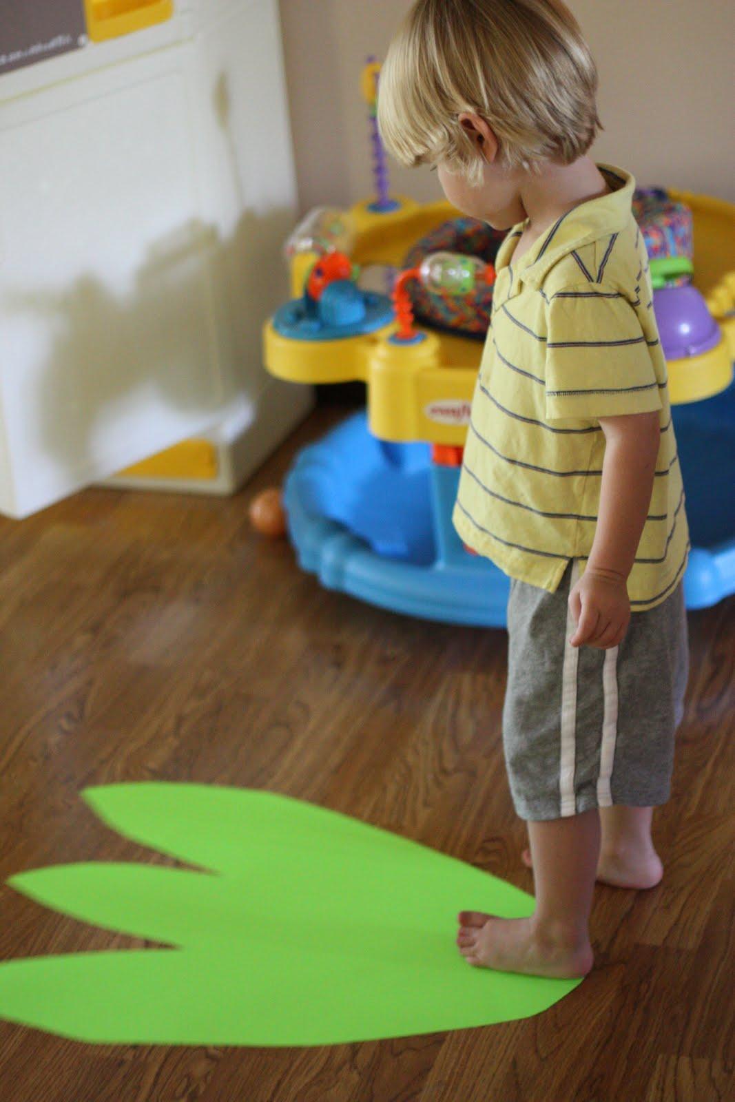 Measuring With Dinosaur Feet