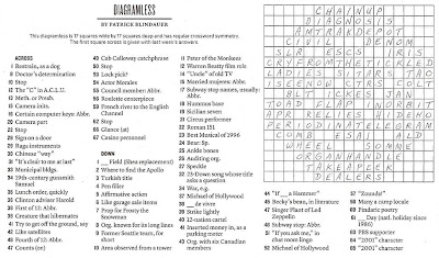 The New York Times Crossword in Gothic: 03.21.10 — Stop
