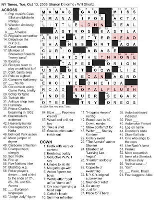 math crossword puzzles: Crosswords Pleasant Crossword