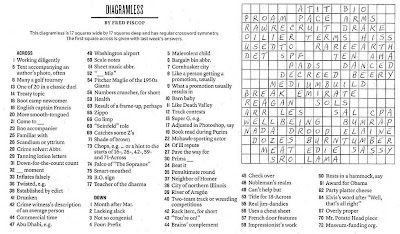 The New York Times Crossword in Gothic: November 2010