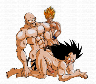 Yaoimutt dreams with personality goku naked