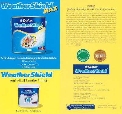 Dulux Weathershield Paint Building Materials