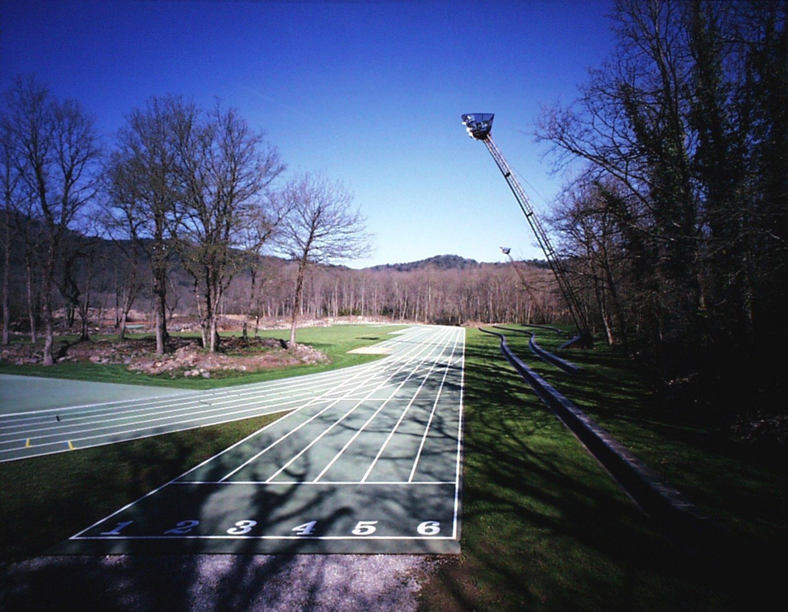 El Estadio de Atletismo Tussols-Basil en Olot