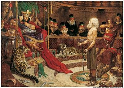 Resultado de imagem para profeta Abinádi