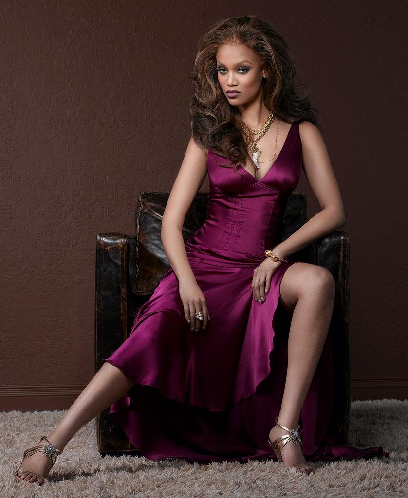 Tyra Banks Modeling