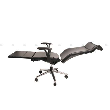 No Matter How Far Back Your Office Chair Reclines It S Never As Comfortable Lying Down Thanko Anychair Solves That Problem