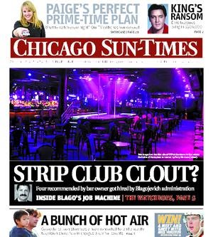 Newsalert: Strip club clout with Blago? Four recommended by bar ...