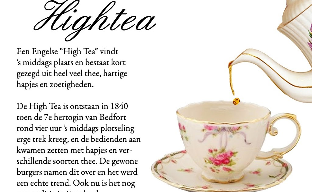 echte engelse high tea