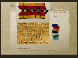 Etoile de sand, piastrelle, tessere, simulatore online