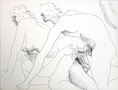 dessin pornographique double penetration