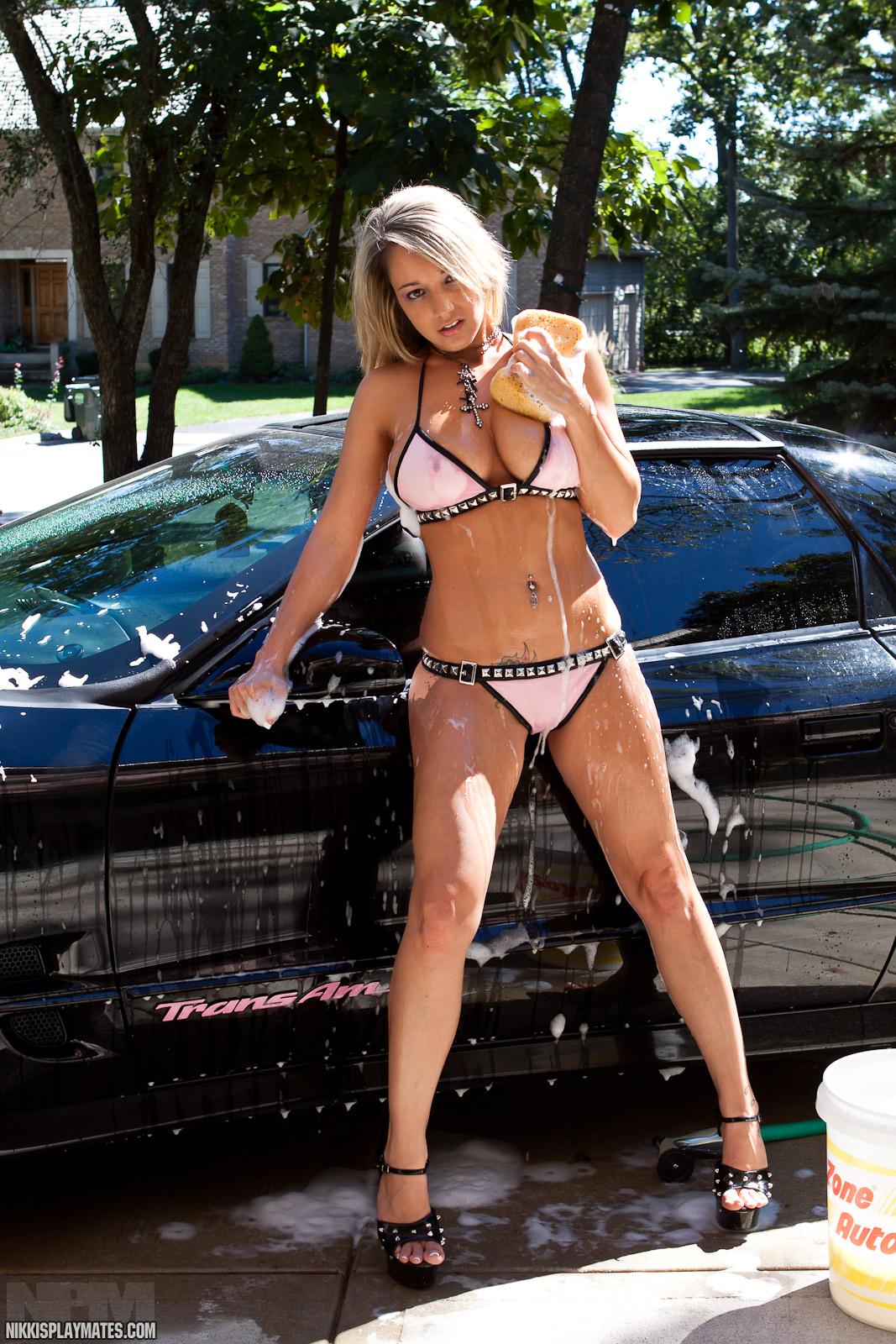 Sexy Amp Hot Babes Nikki Sims Car Wash