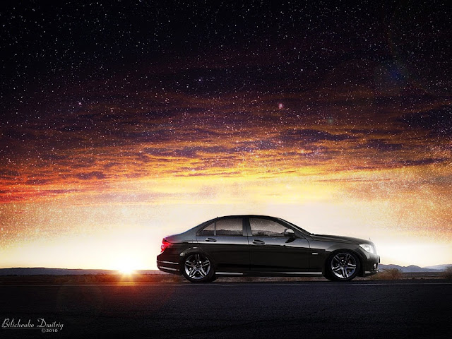 mercedes w204 wallpapers