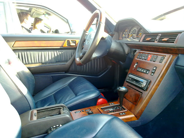 w124 amg coupe interior