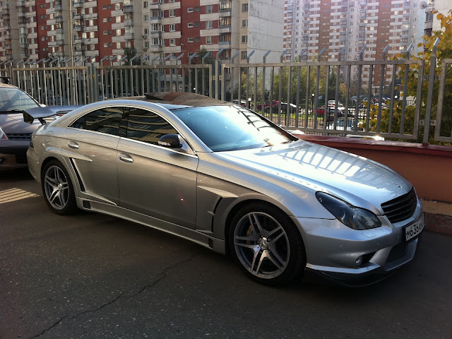 mercedes cls 219 widebody