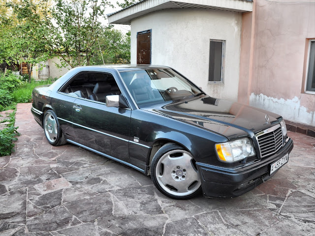 mercedes w124 coupe tuning