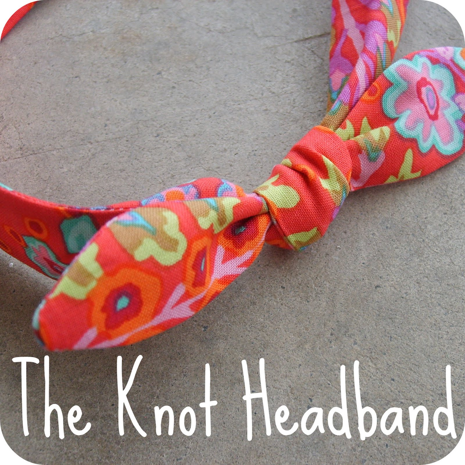 The Red Kitchen The Knot Headband